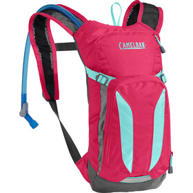 CamelBak Mini M.U.L.E. Hydration Pack 1,5L Kids, azalea/aruba blue